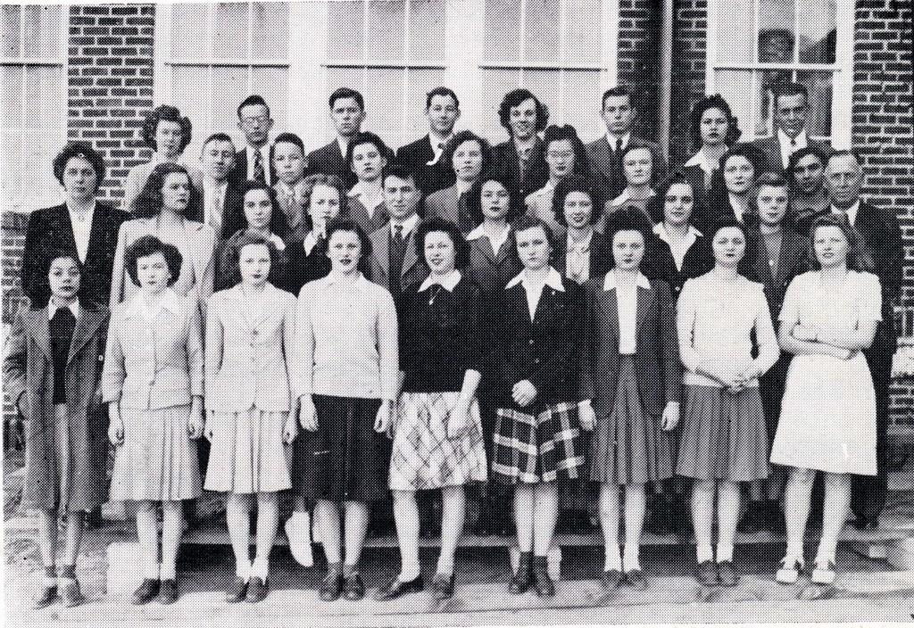 B F Grady class of 1945