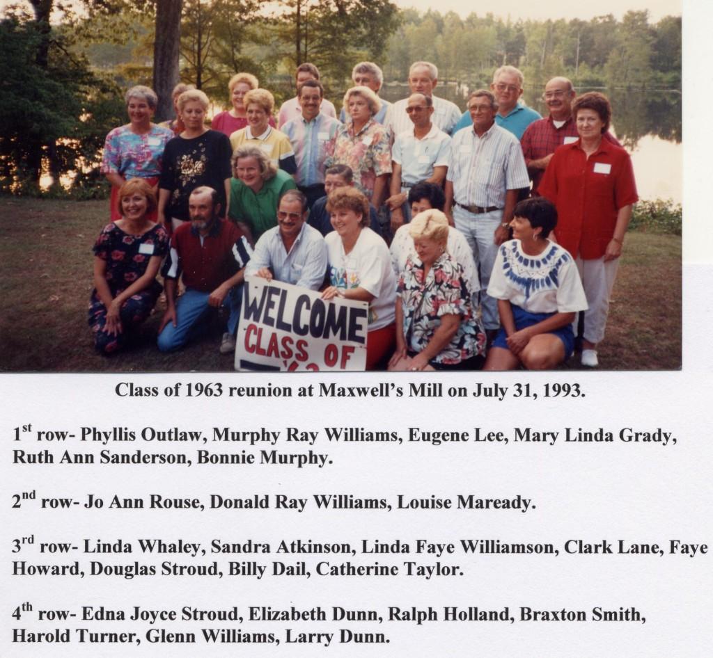 Class of 1963 reunion