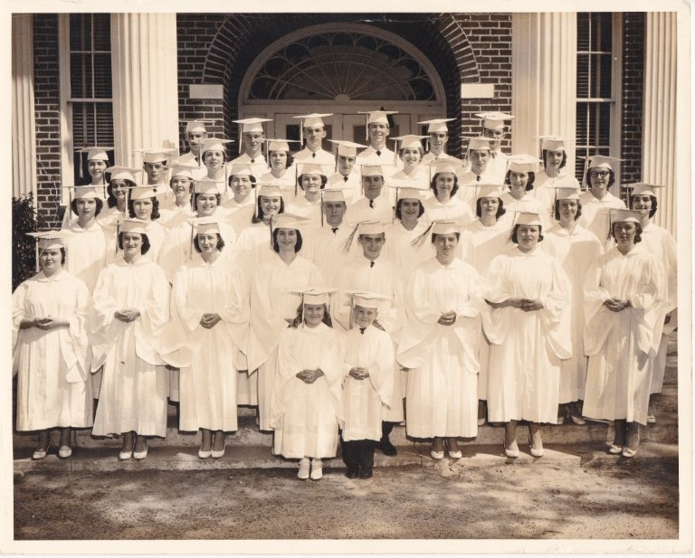 BFGclassof1961withcap_gown