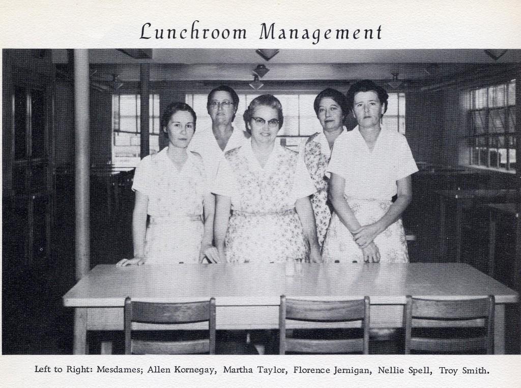 Lunchroom Mangement -Memories