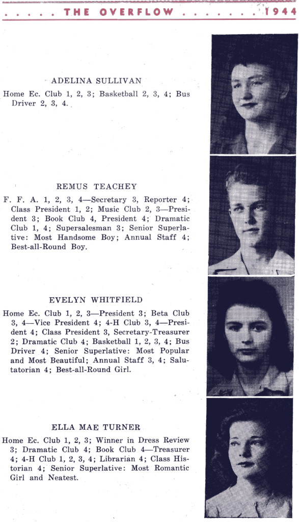 B F G 1944 Seniors P 3