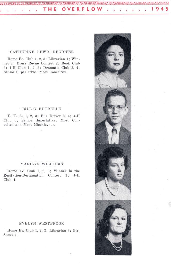 B F G Class 1945 Seniors P 3