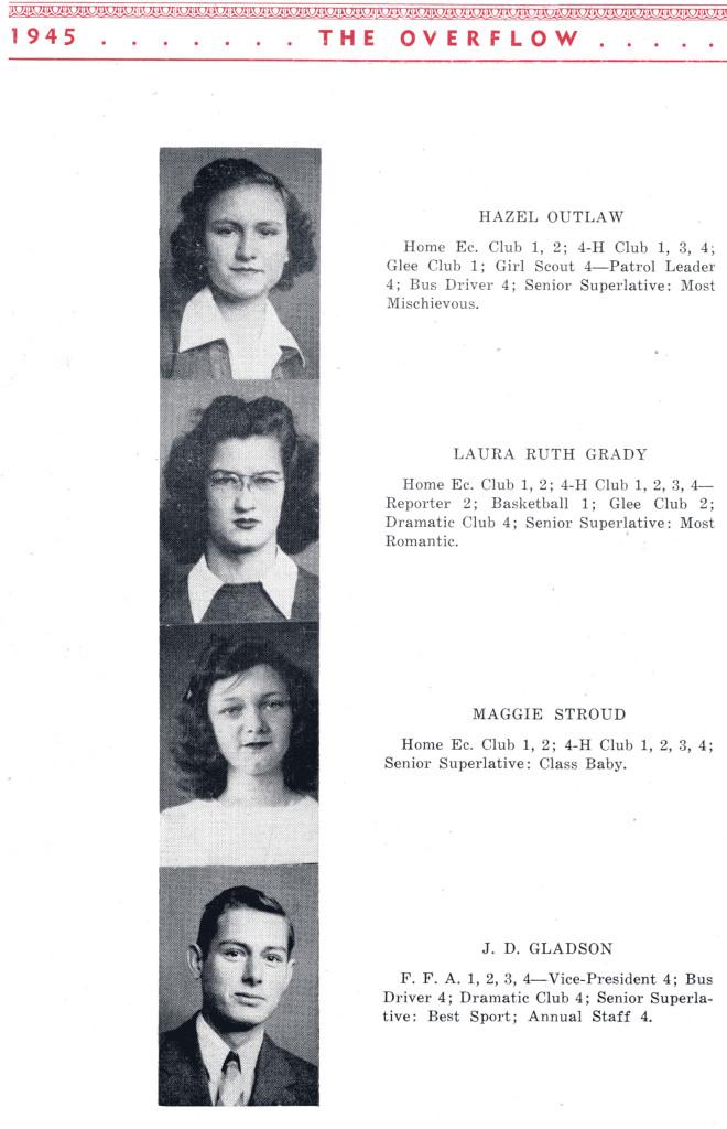 B F G Class 1945 Seniors P 4