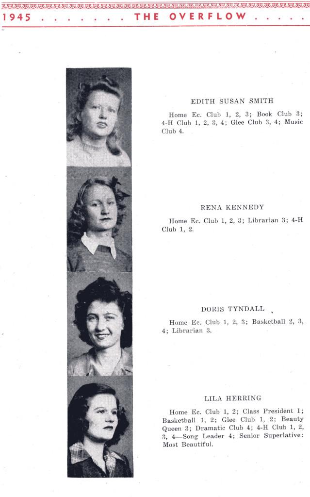 B F G Class 1945 Seniors P 8