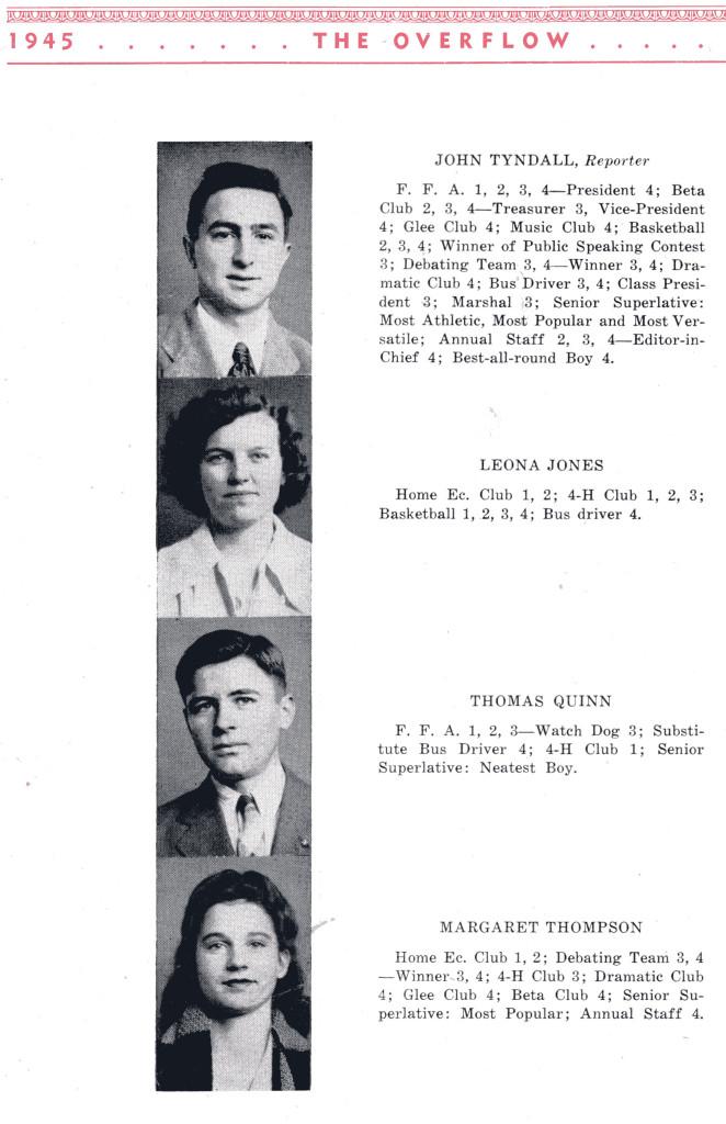 BFG Class 1945 Seniors P 2