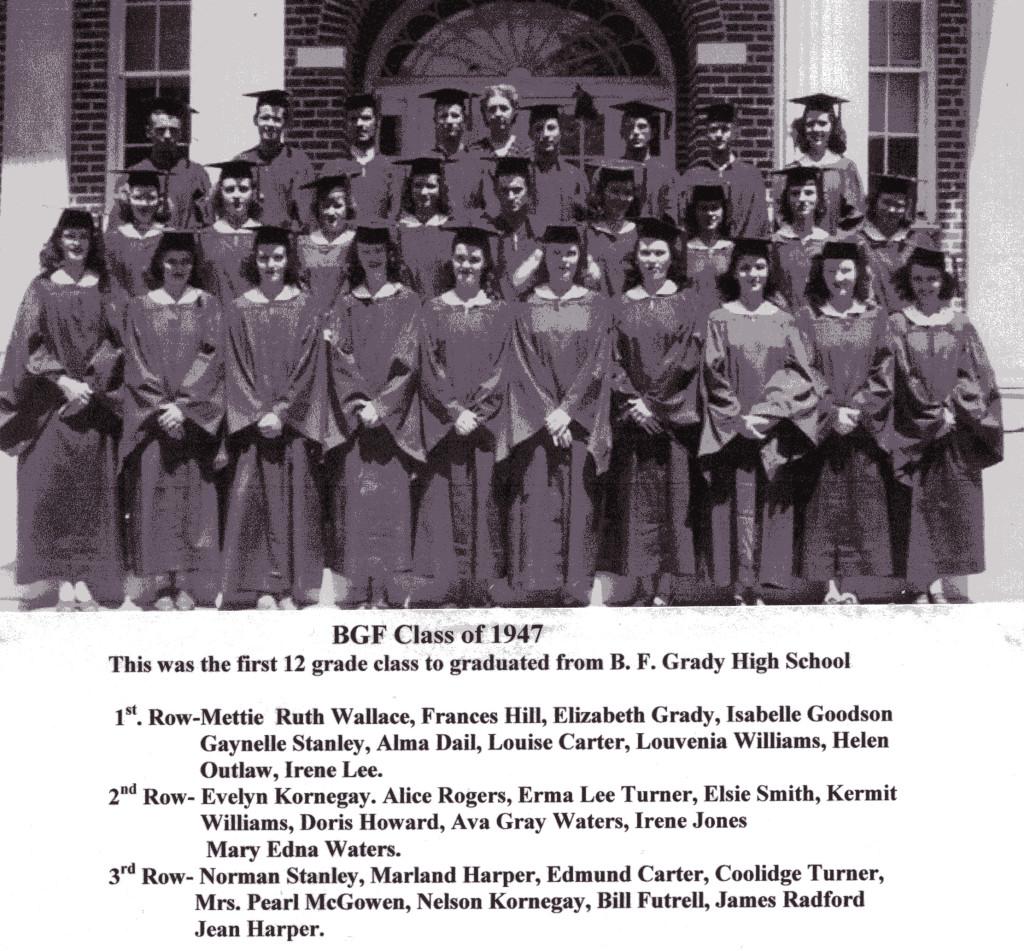 BFG Class of 1947 Seniors