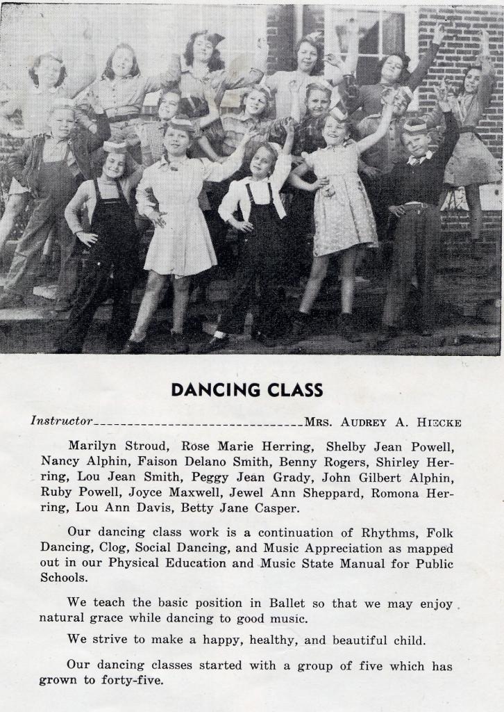 BFG Dancing Class- Memories