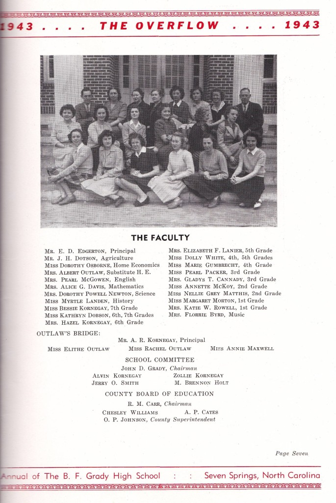 BFGradySchoolFaculty1943