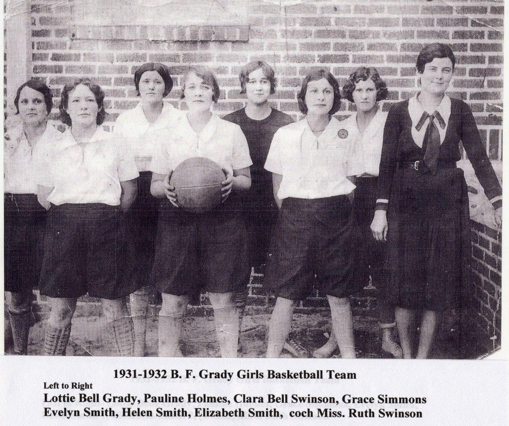 BFG 1932 Girles Basketball