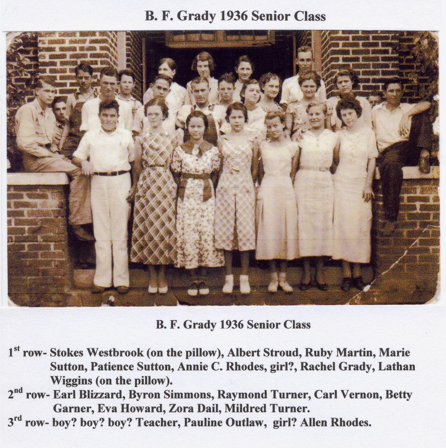 BFG 1936 Seniors